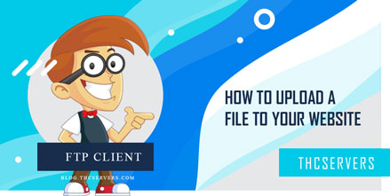 FTP client - How to upload a file to your website